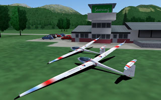 Condor: The Competition Soaring Simulator